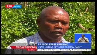 Machakos, Makueni and Kitui counties now turning to yellow passion fruit which is more profitable