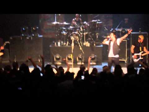 Three Days Grace - Happiness (Live TLA Philly 10/23/12)