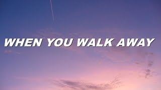 5sos   When You Walk Away (lyrics)