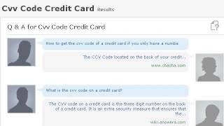 How To Find A Replacement CVV Code For A Credit Card