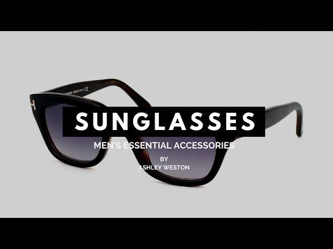 The Best Men's Sunglasses For Your Face Shape – Men's Essential Accessories – Aviators, Wayfarers