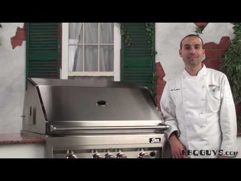 Sunstone Gas Grill Component Overview