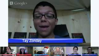 """Tay Zonday sings """"Chocolate Rain"""" LIVE with Fan"""