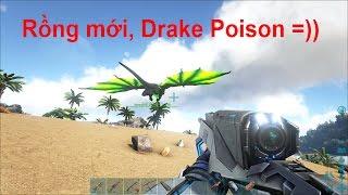 ARK: Survival Evolved - Dẫn 2 bé DodoRex về đảo Rồng (Video test nhé các bạn!)