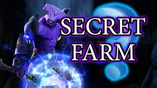 Dota 2 Tricks: Radiant Secret Jungle Farm Positions! 7.03