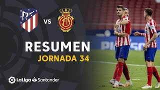 Resumen de Atlético de Madrid vs RCD Mallorca (3-0)
