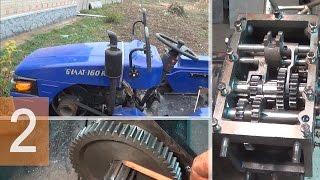 Ремонт трактора Булат 160 - Как устранить неисправность блокировки заднего моста - Часть 2