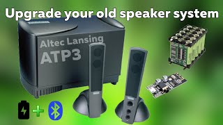 How to install bluetooth module to any speaker system I Altec Lansing ATP3 I