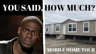 Living Room And Den Double Wide! 32x72 4 Bed 2 Bath By Hamilton Homebuilders | Mobile Home Tour