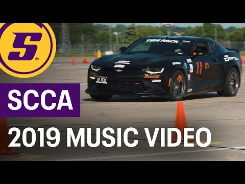 2019 SCCA Solo Nats Music Video