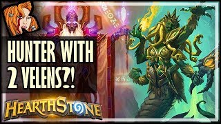 A Hunter With Two Velens?! - Rastakhan's Rumble Hearthstone