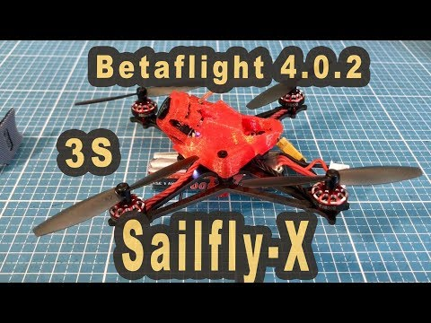 Sailfly X 3S Freestyle mit 64 Gramm BetaFlight 4.0