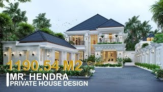 Video Mr. Hendra Classic House 2 Floors Design - Medan