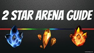 2 Star Arena Guide : How to get 3 Star Everytime//Marvel Contest of Champions