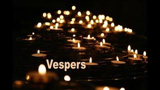 Vespers Service April 29, 2020