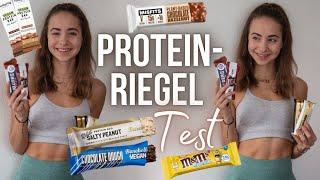 PROTEINRIEGEL TEST - über 30 Riegel (Vegan, Drogerie, Foodspring, Barebells, Numove,..) // annrahel
