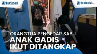 Satu Keluarga di Mataram Jadi Pengedar Sabu, Anak Gadis Ikut Ditangkap Polresta Mataram