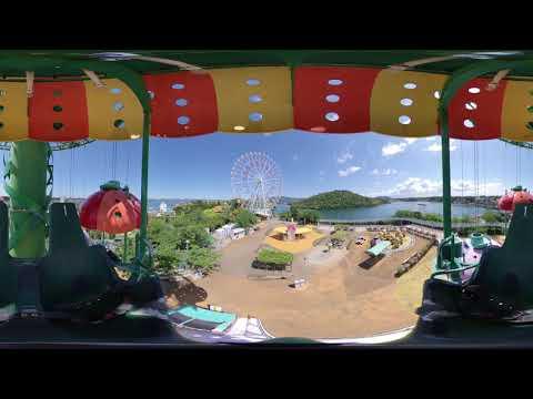 VRで遊具体験!パラシュートタワー編【浜名湖パルパル】