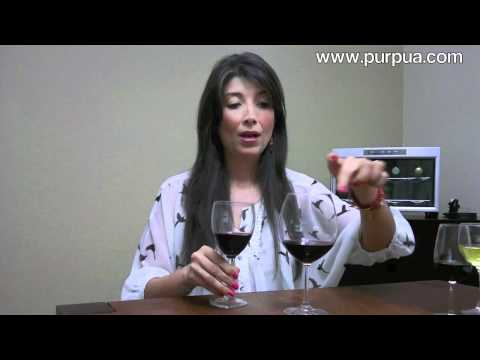 Copas para el Vino Tinto - Rojo