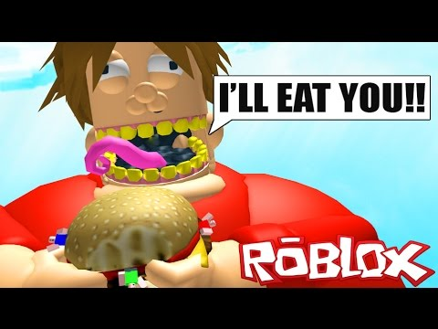 Escape The Giant Fat Guy Roblox Obby Free Online Games