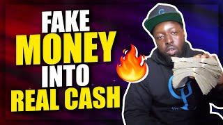 How I Turned Fake Money Into REAL CASH! *SHOCKING* (Text Bot Ai Training Proof)