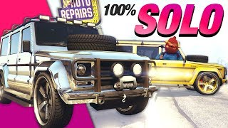 100% SOLO Method | Spawn RARE Chrome/Gold Dubsta II Complete Guide | GTA Online