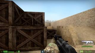 [CS:GO] How it feels to play with unstable ping