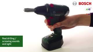 Vaikiška įrankių dėžė su elektriniu atsuktuvu   Bosch   Klein 8520