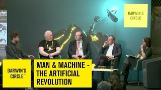 Man & Machine - The Artificial Revolution | moderated by Anita Zielina