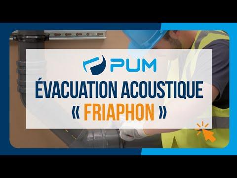 Évacuation isophonique FRIAPHON