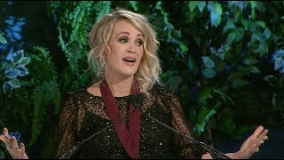 Carrie Underwood's Oklahoma Hall of Fame induction speech