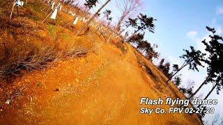 Flash Flying Dance (FPV freestyle)