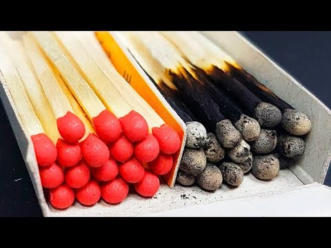 15 Tricks and Life Hacks with Matches