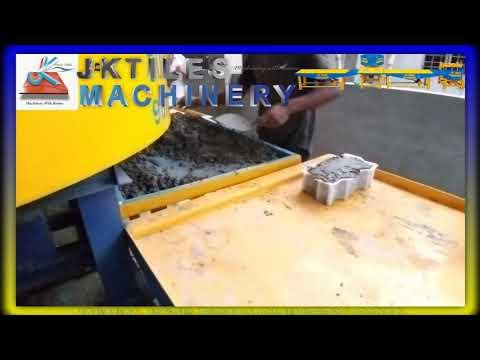 Automatic Vibrating Tiles Machine