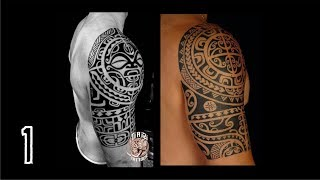 Top 10 Tribal Maori & Polynesian Tattoos For Men (Suitable For Indian Skin)