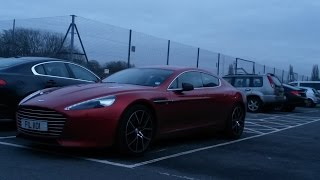 preview picture of video 'Random Local Spots January 2015 Supercars in Welling'
