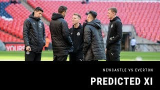 Predicted XI | Newcastle United v Everton
