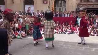 preview picture of video 'Ball dels Nans - Festa Major Solsona 2014'