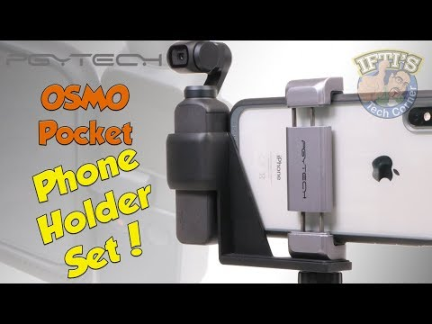 DJI OSMO Pocket Phone Holder Set - PGYTech - Secure OSMO to your Phone!