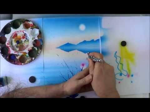 Airbrushbild - Airbrush für Anfänger
