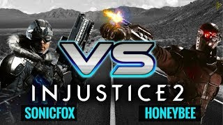 Injustice 2: HoneyBee (Deadshot) vs SonicFox (Captain Cold)