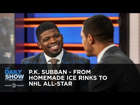 P.K. Subban - From Homemade Ice Rinks to NHL All-Star | The Daily Show