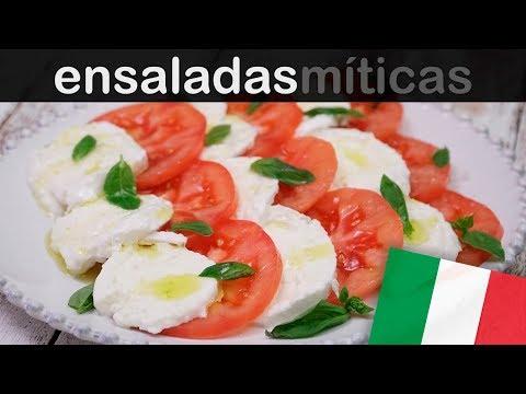 3 MANERAS DE PRESENTAR UNA CAPRESE | Las ensaladas más famosas del mundo