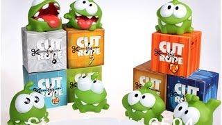 Toy figeres Om Nom - Cut The Rope: изувеченная посылка от почты россии