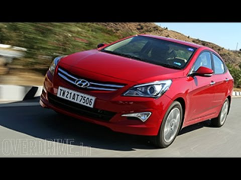 2015 Hyundai Verna 4S (facelift) - First Drive Review