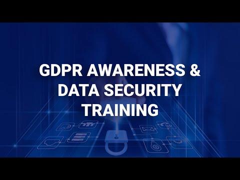 GDPR Awareness & Data Security Training   Human Focus - YouTube