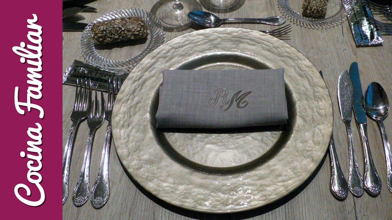 Como organizar una mesa de Navidad | Javier Romero