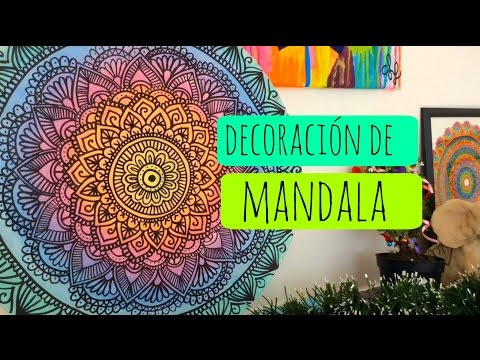 Mandalas para la pared! DIY | Zentangle Art