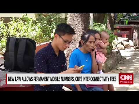 New law allows permanent mobile numbers, cuts interconnectivity fee