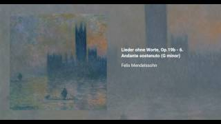 Songs without words, Op. 19b